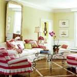 pembe dekoratif romantik salon