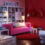 pembe güzel romantik salon
