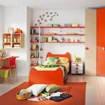 renkli çocuk odası dolap modelleri