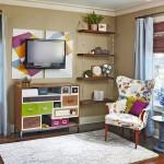 renkli oturma odası tasarımları