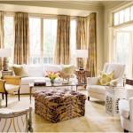 romantik oturma odası modeli