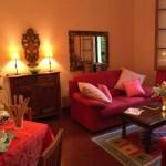 romantik salon dizaynı