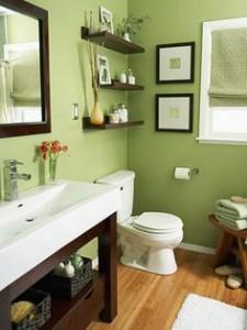 bitki banyo dekor